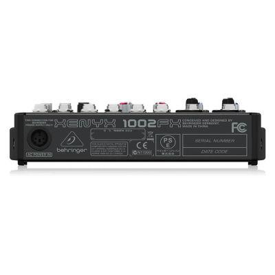 Xenyx 1002FX 10 Kanallı Efektli Ses Mikseri