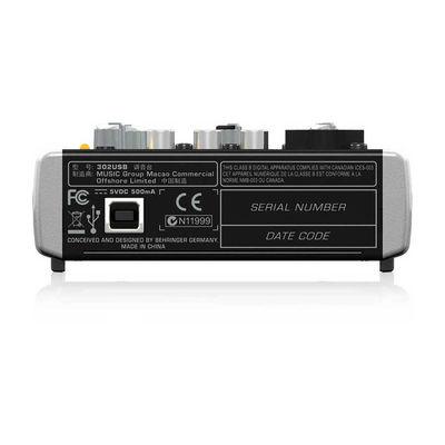Xenyx 302USB 2 Kanal USB Ses Kartlı Stüdyo Mikseri