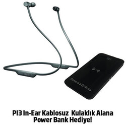 PI3 In-Ear Kablosuz Space Grey Kulaklık
