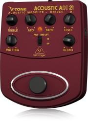 ADI21 V-Tone Profesyonel Akustik Gitar İçin Pedallı Preamfi DI-BOX - Thumbnail