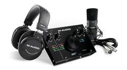 M-Audio - AIR 192-4 Vocal Studio Pro Yüksek Kaliteli Stüdyo Kayıt Paketi