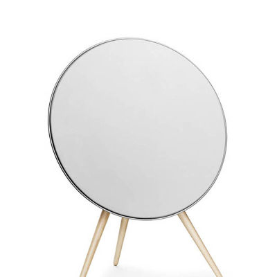 Beoplay A9 White with maple legs 2