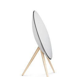 Beoplay A9 White with maple legs 2 - Thumbnail