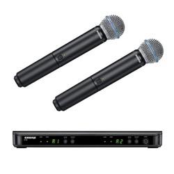 Shure - BLX288E-B58 Dual Wireless Mikrofon