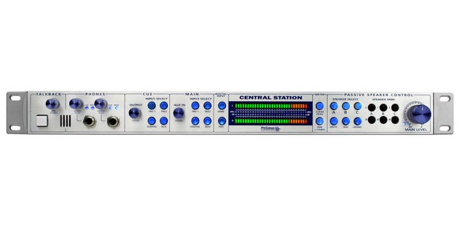 Central Station Plus Stüdyo kontrol sistemi / Talkback / Monitöring / Remote