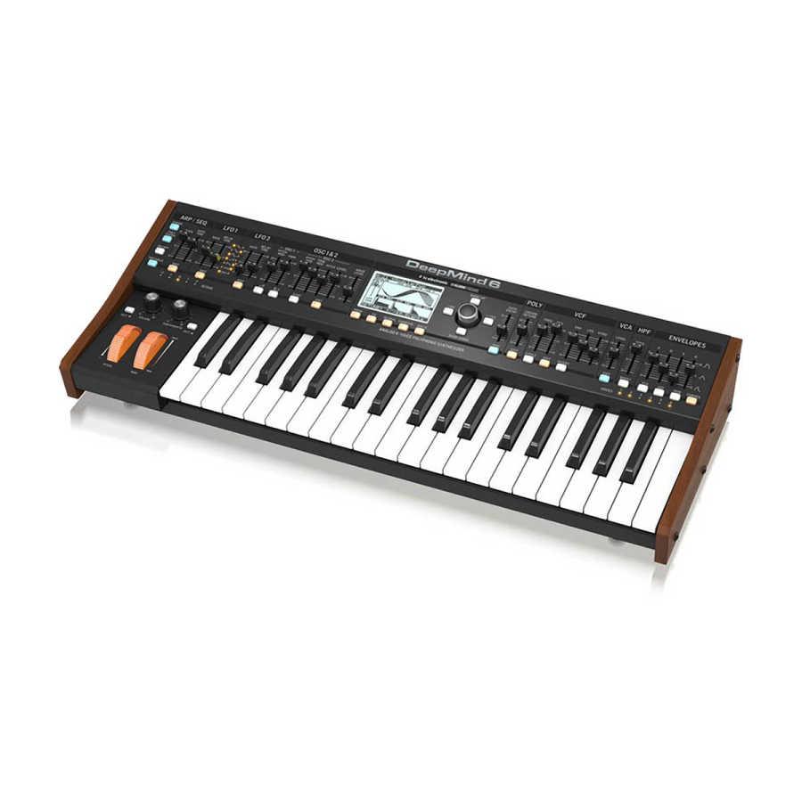 DEEPMIND 6 Analog Synthesizer