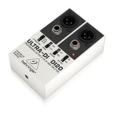 DI20 İki Kanal Aktif Splitter DI-Box