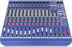 DM16 16 Kanal Efektli Mikser - Thumbnail