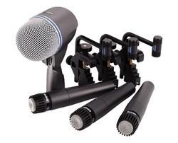 Shure - DMK57-52 Davul Mikrofon Seti
