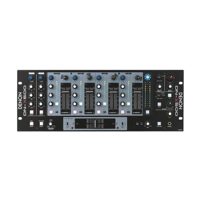 DN-X 500 8 Kanal RackMount DJ Mikser