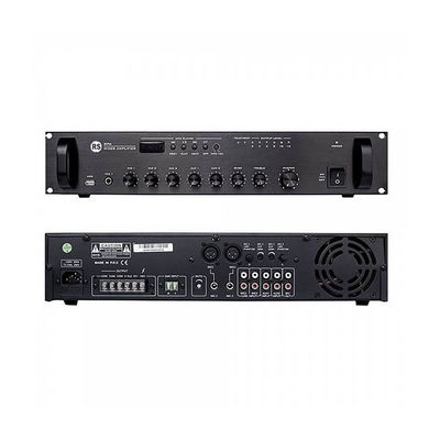 DPA-100-UB - Mixer Amp with USB/Bluetooth/ FM, 3 Mic, 2 Aux