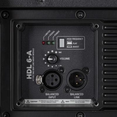 HDL 6-A - 1400W Aktif Line Array Modül