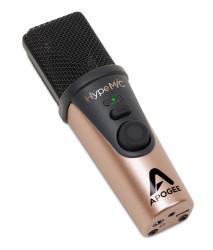Apogee - HypeMIC Mac-Windows-iOS uyumlu, compressor'lü, taşınabilir mikrofon