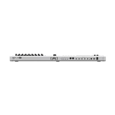 Keylab 61 MKII - Beyaz - Yeni Nesil Gelişmiş 61 tuş keyboard-controller + Soft Synth