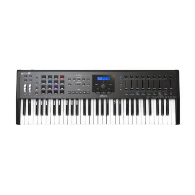 Keylab 61 MKII - Siyah - Yeni Nesil Gelişmiş 61 tuş keyboard-controller + Soft Synth