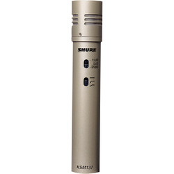 Shure - KSM 137-SL Cardioid Condenser Enstruman Mikrofonu