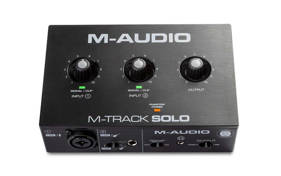 M-Track Solo Ses Kartı