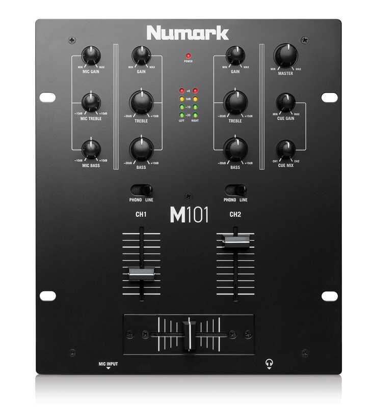 M101 2 Kanal DJ Mikseri