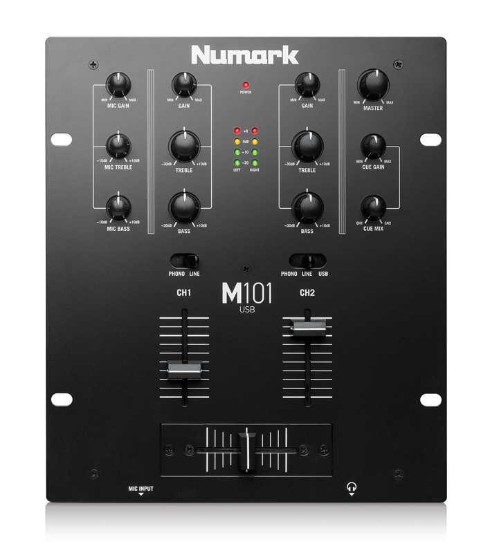 M101 2 Kanal Usb DJ Mikseri