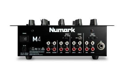 M4 3 Kanal Scratch DJ Mikseri