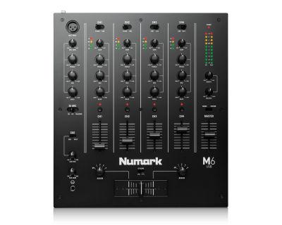 M6 4 Kanal Usb DJ Mikseri