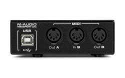 Midisport 2x2 2-in-2-out USB MIDI Ses Kartı - Thumbnail