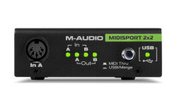 Midisport 2x2 2-in-2-out USB MIDI Ses Kartı - Thumbnail