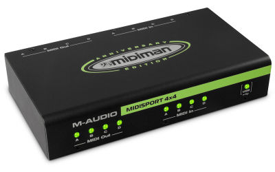 Midisport 4x4 4-in-4-out USB MIDI Ses Kartı