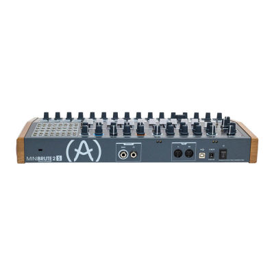 MiniBrute 2S - %100 Analog, semi modular Hybrid Synth, Sequencer