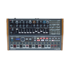 Arturia - MiniBrute 2S - %100 Analog, semi modular Hybrid Synth, Sequencer