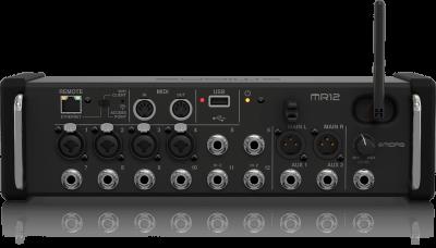 MR12 - 12 Kanal Rack Tipi Dijital Mikser
