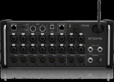 MR18 - 18 Kanal Rack Tipi Dijital Mikser