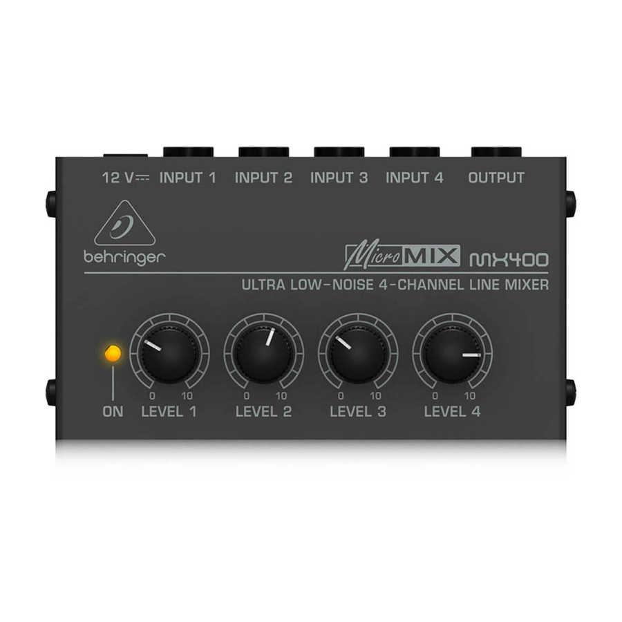 MX400 4 Kanallı Mikser