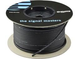 Klotz - MY206 Siyah Sinyal Kablosu 100 METRE