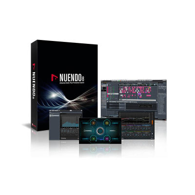 Nuendo V8 UD <- V5 Bilgisayar Yazılımı