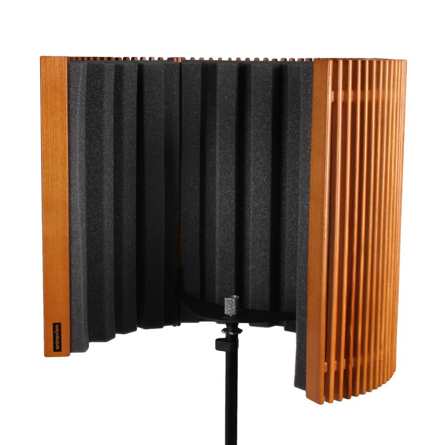 Olympus W - Fagus Ahşap Mikrofon Paneli