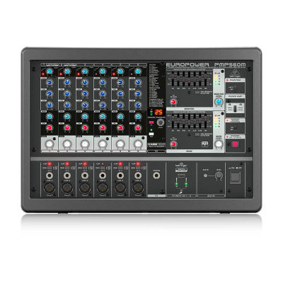 PMP560M 500 Watt 6 Kanal Power Mikser