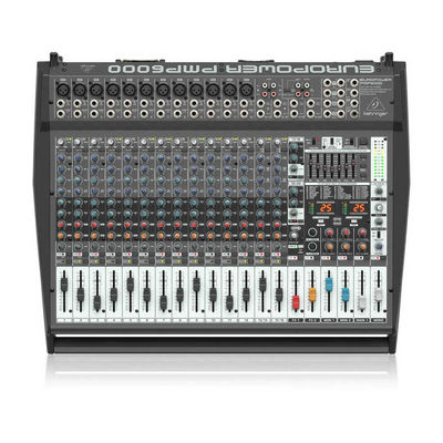 PMP6000 1600 Watt 20 Kanal Power Mikser