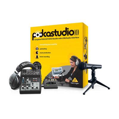 PODCASTUDIO USB Stüdyo ve Yayın Paketi