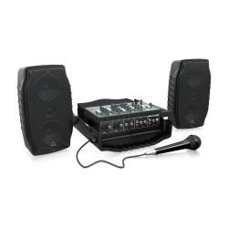 PPA200 200 Watt 5 Kanal Taşınabilir Ses Sistemi - Thumbnail