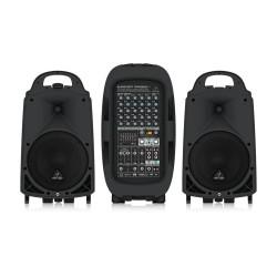 PPA2000BT 2000 Watt 8 Kanal Taşınabilir Ses Sistemi - Thumbnail