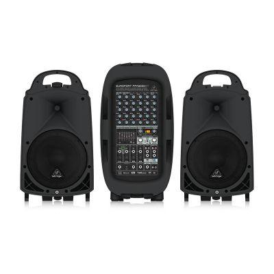 PPA2000BT 2000 Watt 8 Kanal Taşınabilir Ses Sistemi