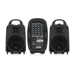 PPA500BT 500 Watt 6 Kanal Taşınabilir Ses Sistemi - Thumbnail