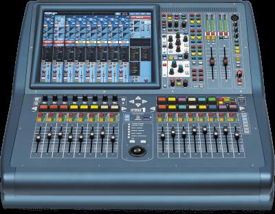 PRO1-TP 24 Kanal Dijital Mikser ( Rack Case Dahil )
