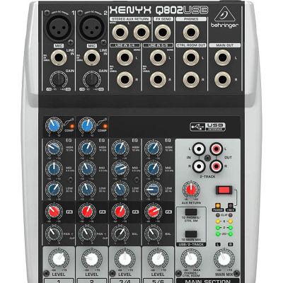 Q802USB 8 Kanal Usb Mikser