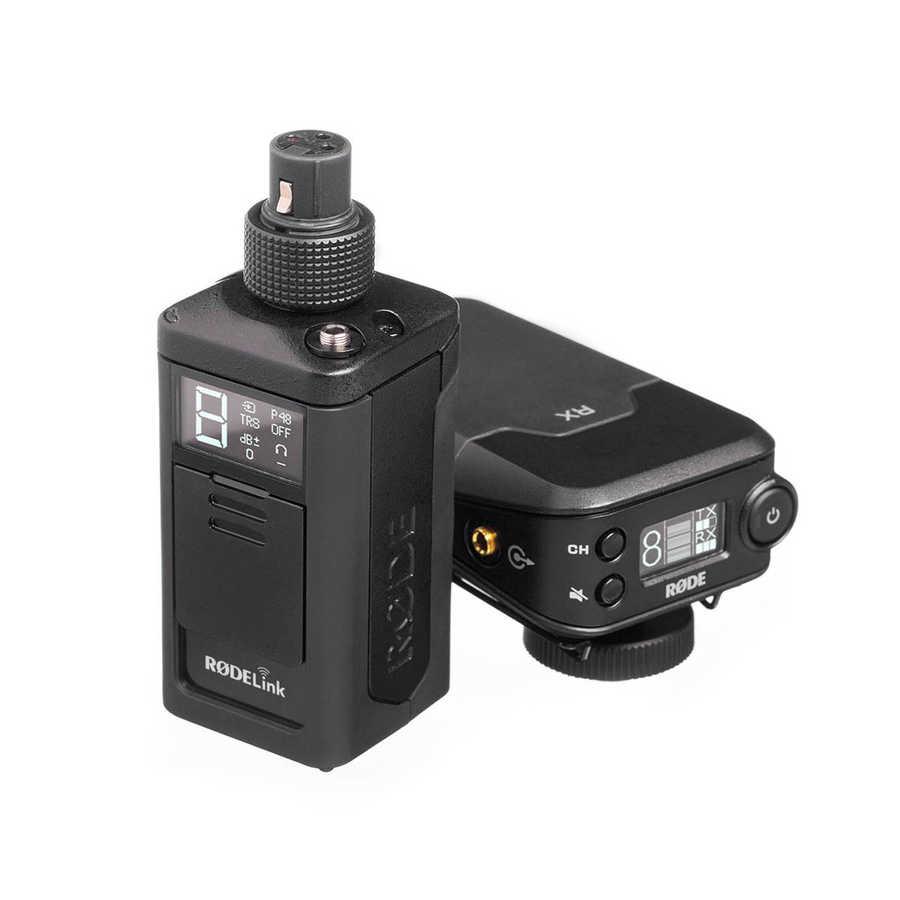 RODELINK NEWSSHOOTER XLR mikrofonlar için telsiz mikrofon seti