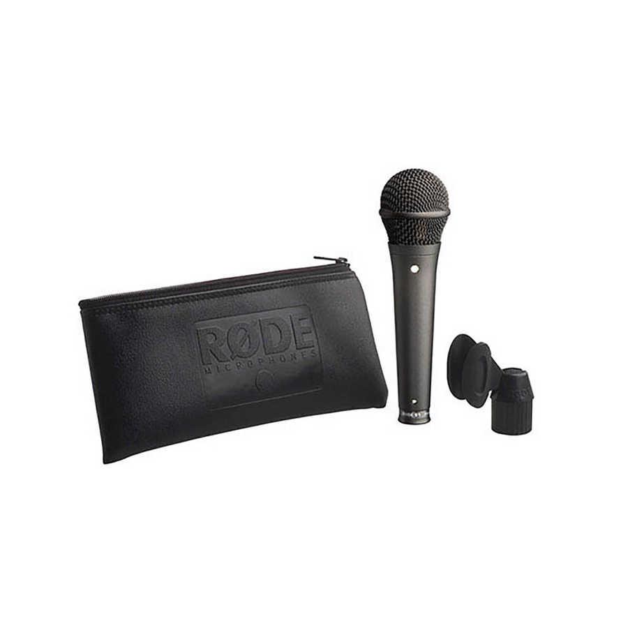 S1 Black Mikrofon Kardioit kondansatör performans mikrofonu