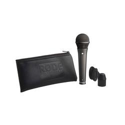 S1 Black Mikrofon Kardioit kondansatör performans mikrofonu (mount ile birlikte) - Thumbnail