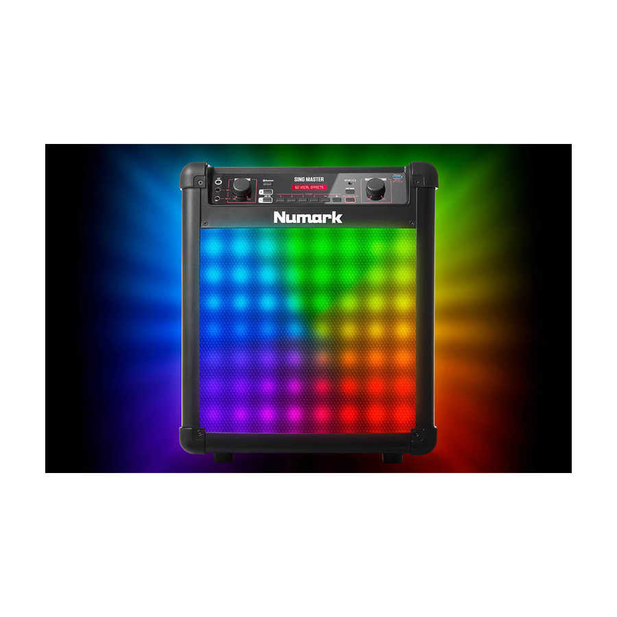 Sing Master 2 Mikrofonlu Karaoke Sistemi