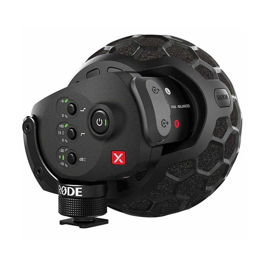 Stereo VideoMic X Mikrofon